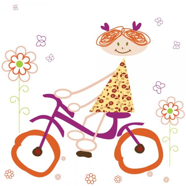 Δράση Ζωγραφικής για παιδιά: «Μια διαδρομή με το ποδήλατό μου!»
